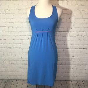 Lululemon blue run in the sun dress
